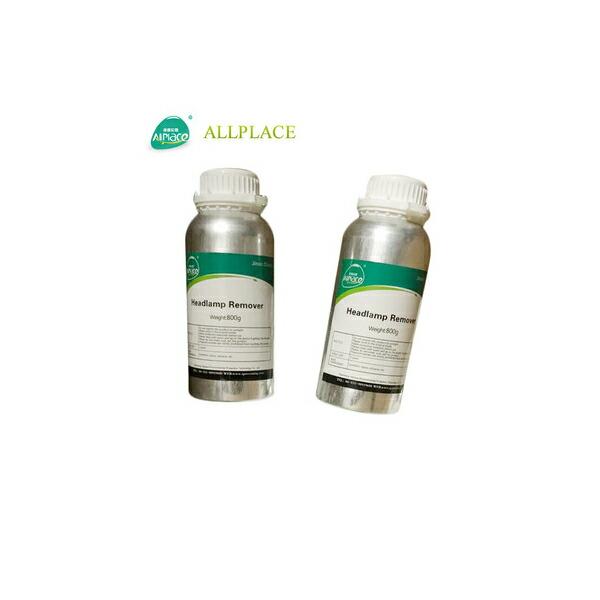 Allplace オールプレイス ヘッドライトスチーマー・ヘッドライトクリーナー専用溶剤2本