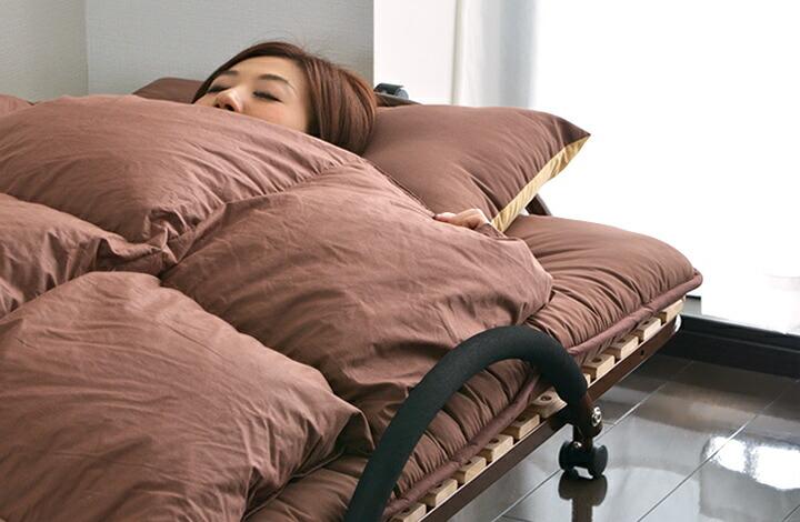 天然 幅97.5cm [送料無料] [約] 桐 対策 寝具 x 長さ208cm 〈1年保証