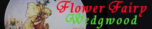 ウェッジウッド フラワーフェアリー絵皿