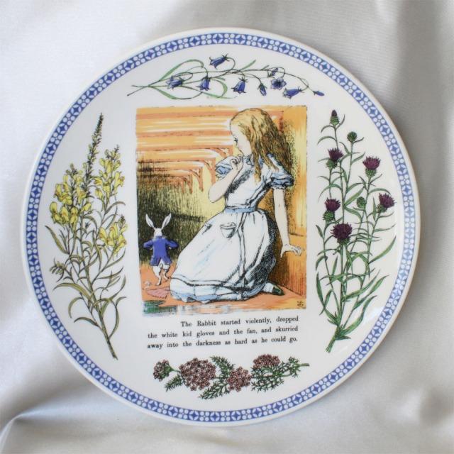 MINTON 1998年、限定発行1500枚不思議の国のアリス絵皿