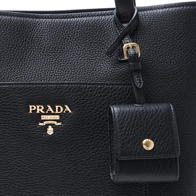 1fdd772ffba2 楽天市場】プラダ PRADA トートバッグ ブラック レディース ショルダー ...