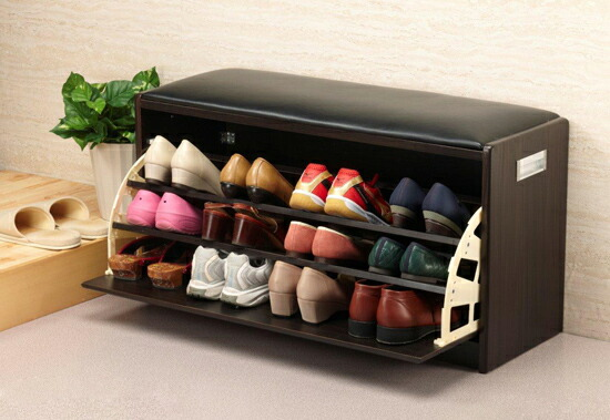Captivating Door Shoe Rack And Place A Big Success! Stool With Shoe Rack