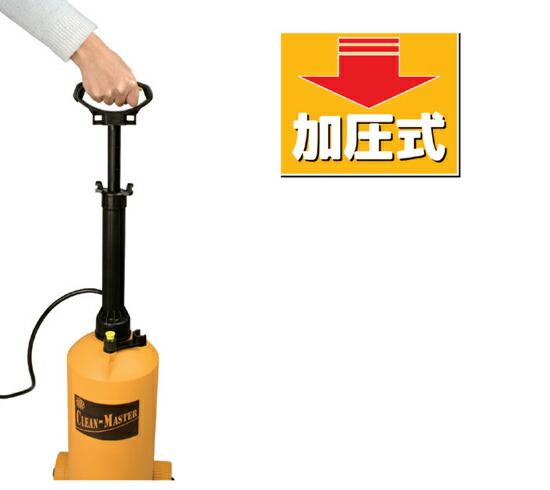 加圧式ポンプ