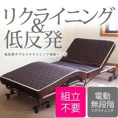 ダブルリクライニングベッド