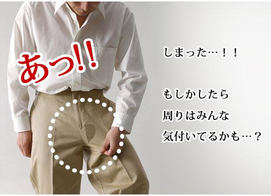 夏用 男性用失禁パンツ
