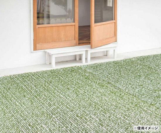 軽量で加工しやすい ロールタイプ 人工芝生マット