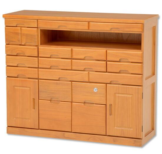 木製ファックス台