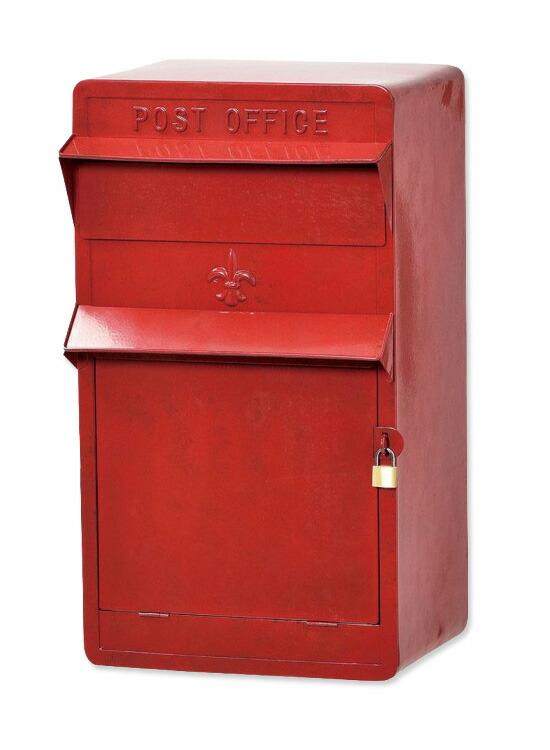 レッド郵便ポスト