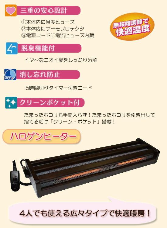 木枠フットヒーター