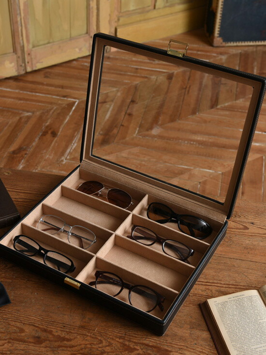 8本収納眼鏡ケース