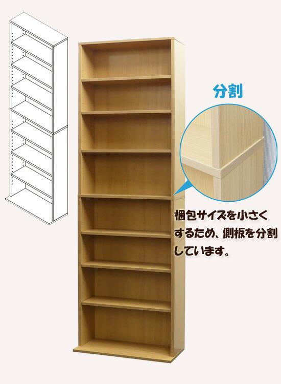 シンプル書棚