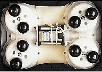 電動マッサージ器セシルの内部構造