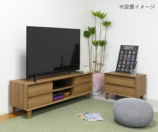 木製テレビラック