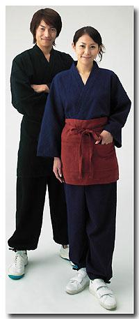 和楽の作務衣