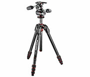 Manfrotto 190Go!カーボン三脚4段+XPRO3ウェイ雲台キット MK190GOC4TB-3WX