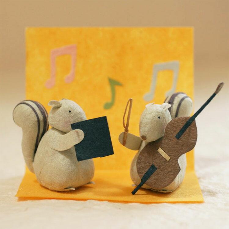 森の音楽隊 リス