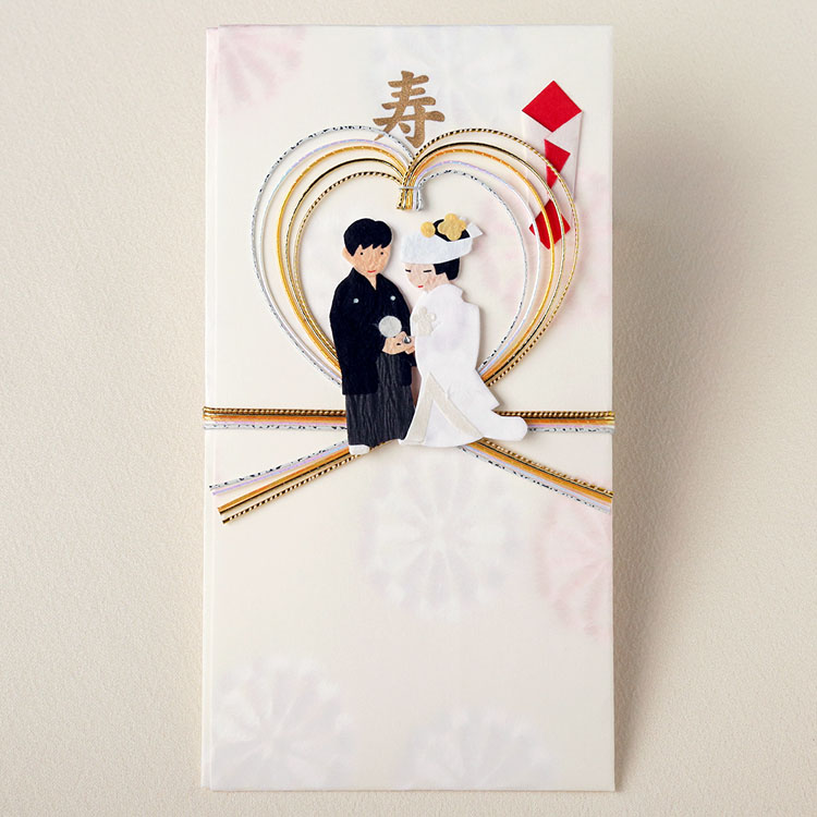 婚礼のし袋(祝儀袋)指輪の交換・和