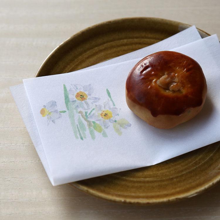 水仙 懐紙