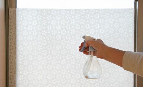 窓に貼る和紙