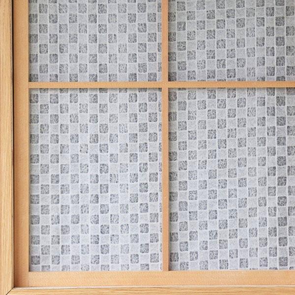 和の障子紙市松(WS-002)