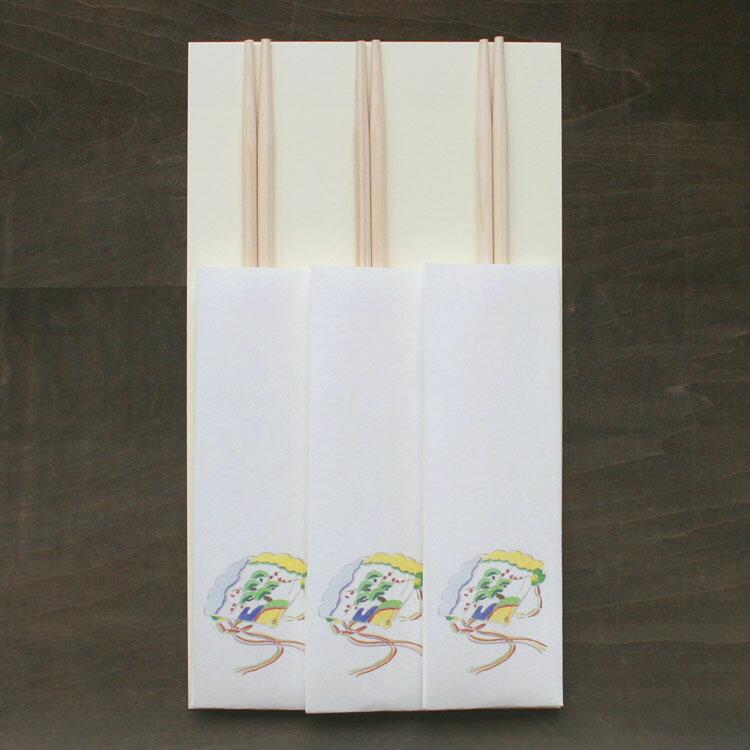 おはなし箸包み檜扇