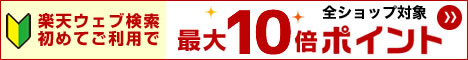 楽web検索初maxPt10
