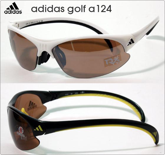 adidas スポーツサングラス golf a124