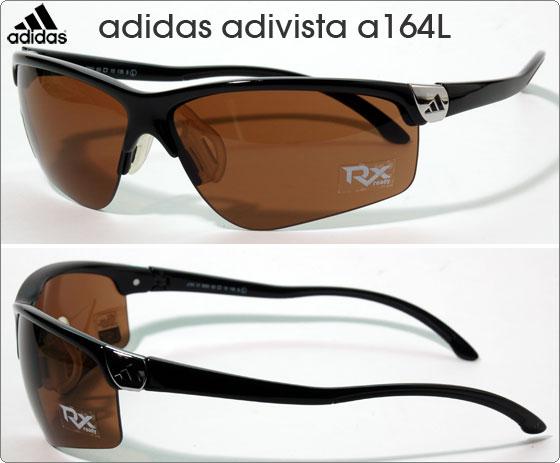 adidas スポーツサングラス adivista a164L