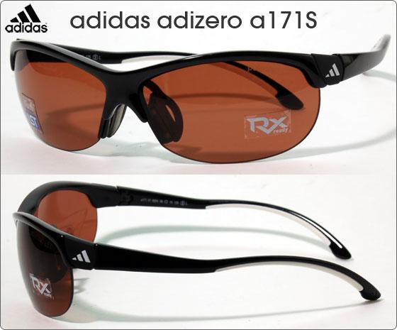 adidas スポーツサングラス adizero a171S
