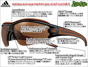 evil eye harfrim pro a167L/a168S