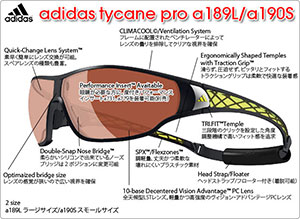 tycane pro a189L/a190S