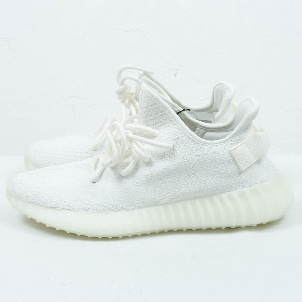 YEEZY adidas YEEZY BOOST 350 V2 CREAM WHITE CP9366 easy Adidas easy boost 350 low frequency cut sneakers cream white size US9.5(27.5cm) present gift