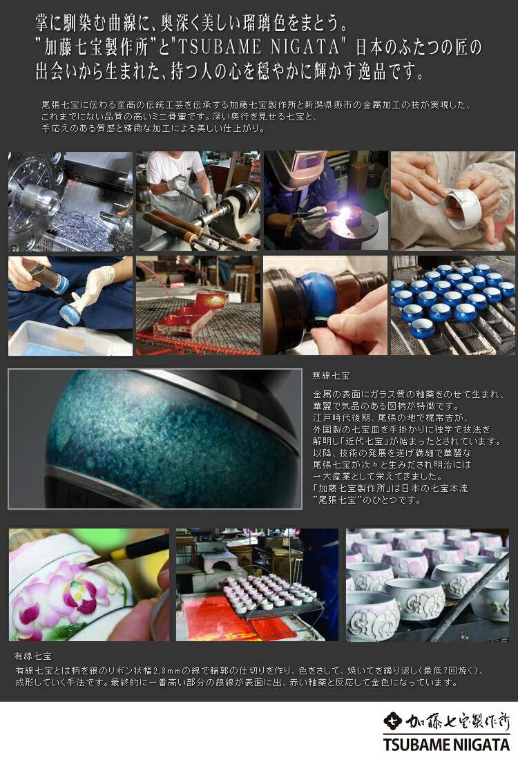 手元供養骨壺まとう製作過程