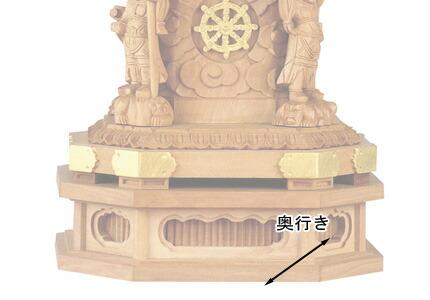 仏像寸法図