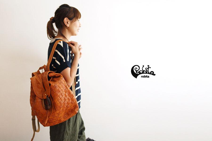 【Robita/ロビタ・ロビータ】メッシュレザーリュック(171)