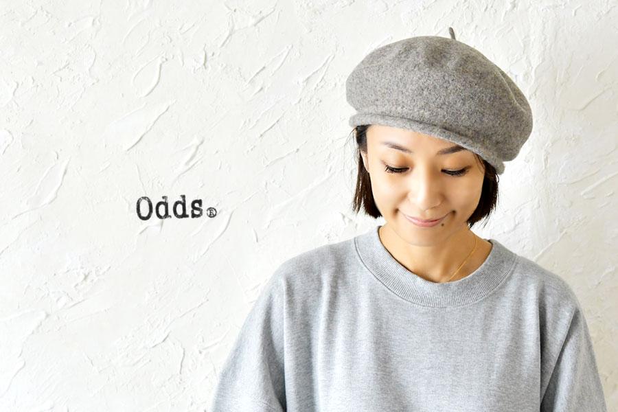 【odds オッズ】ROLL BERET /  ウール ロール ベレー