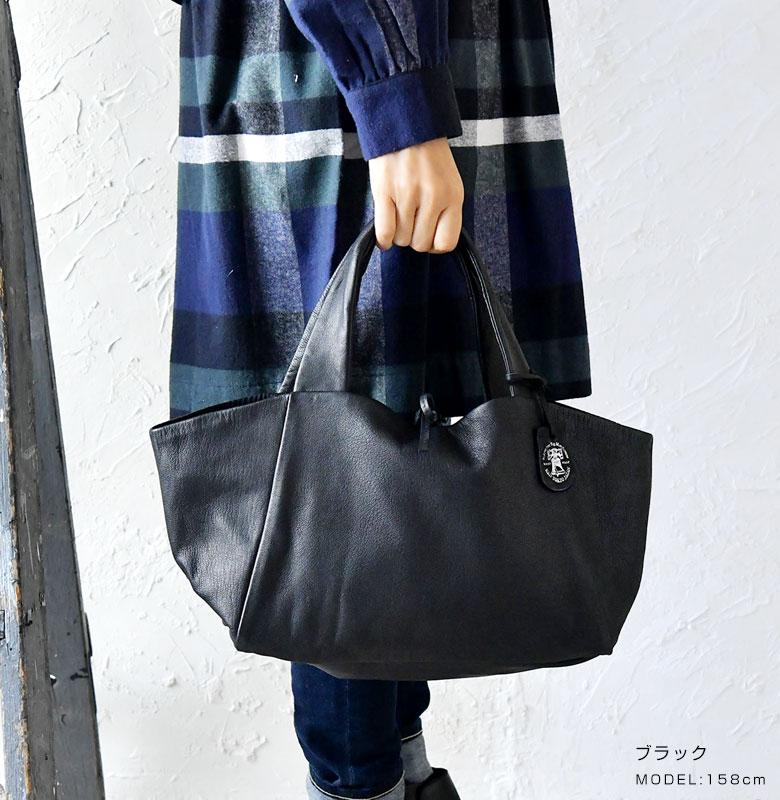 【REN レン】レザー ダックス トートバッグ Sサイズ