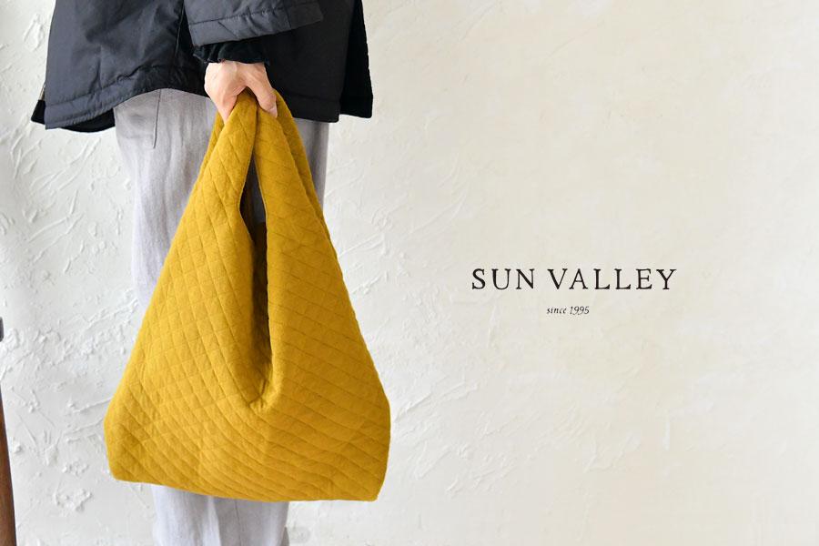 【SUN VALLEY サンバレー】中綿 キルティング マーケット トートバッグ