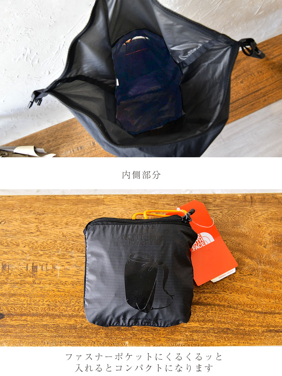 【THE NORTH FACE ザ・ノースフェイス】Flyweight Rolltop Backpack  /  フライウェイト ロールトップ バックパック・リュック バッグ