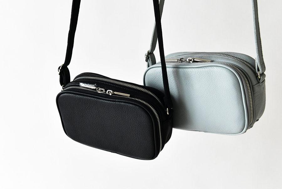 【Beaure ビュレ/ヴュレ】牛革 ウォレット付き 2way レザー ショルダー バッグ