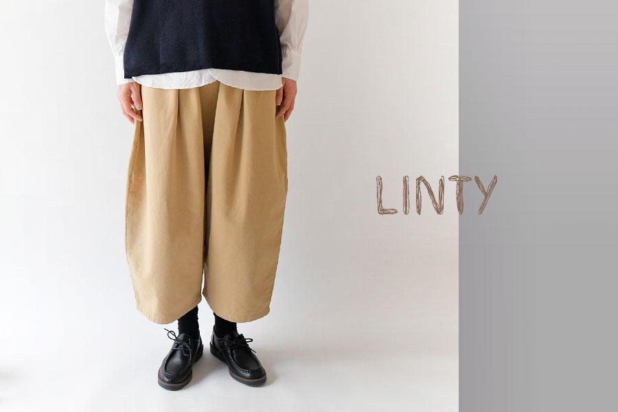 【LINTY リンティー】コットン ツイル ボール パンツ