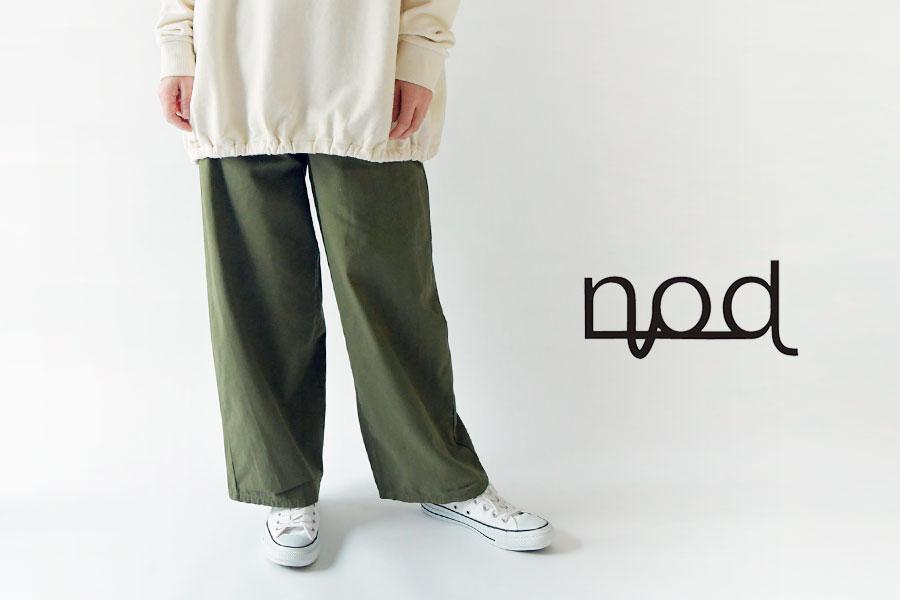 【nod ノッド】ヴィンテージ コットン ベイカー パンツ