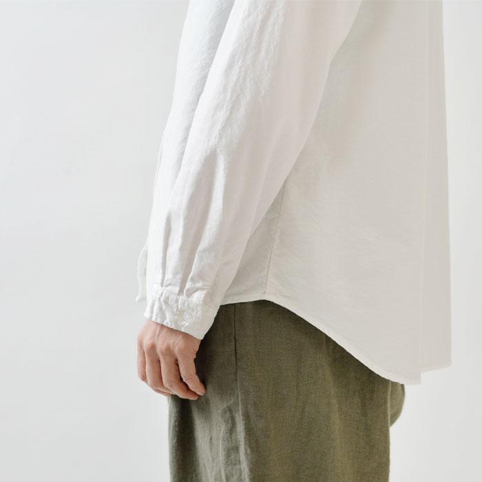 【SUN VALLEY サンバレー】オックス 日本製品染 ベーシック スタンドカラー シャツ