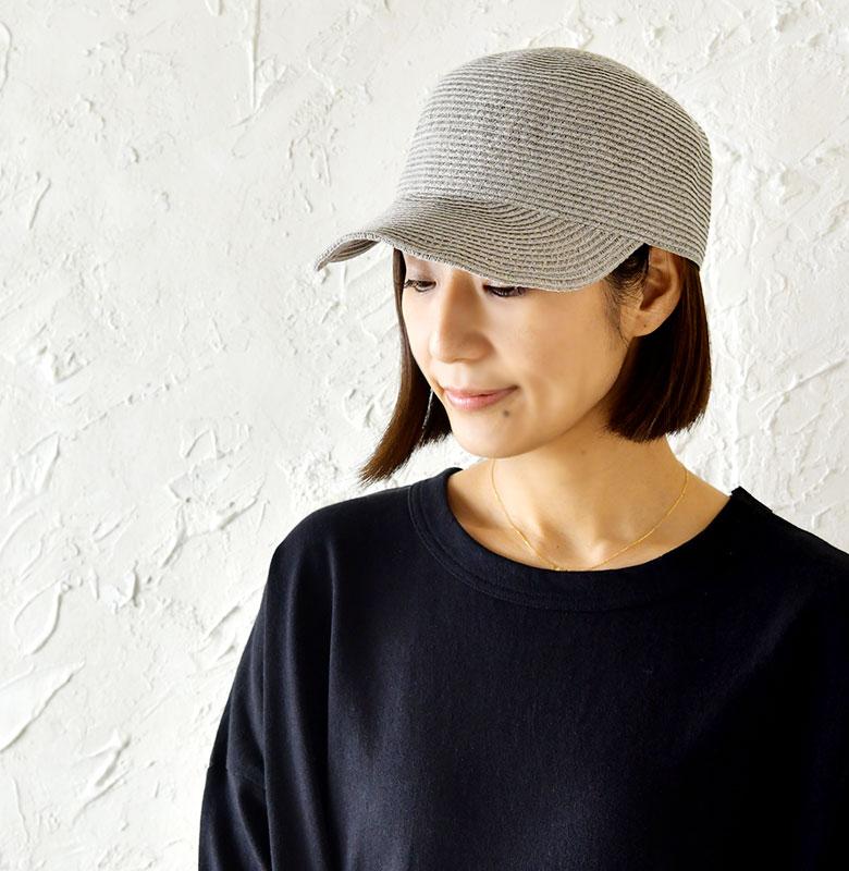 【odds オッズ】 BRAID CAP /ワイヤー入り ペーパー ブレード キャップ