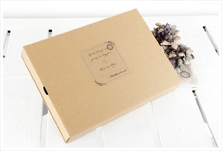 【Matilda マチルダ × p cnq パークニック】 BOX TO HAT 5.5cm brim / ボックス リボン ペーパー ハット