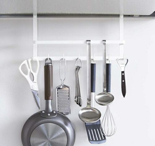 キッチン上に吊るす収納グッズのおすすめを教えてください。