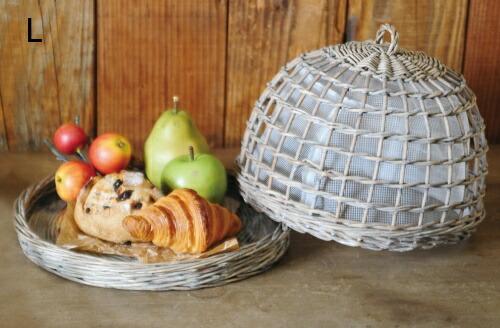 調味料や食品ストックを入れておく、おしゃれなバスケットをおしえて!