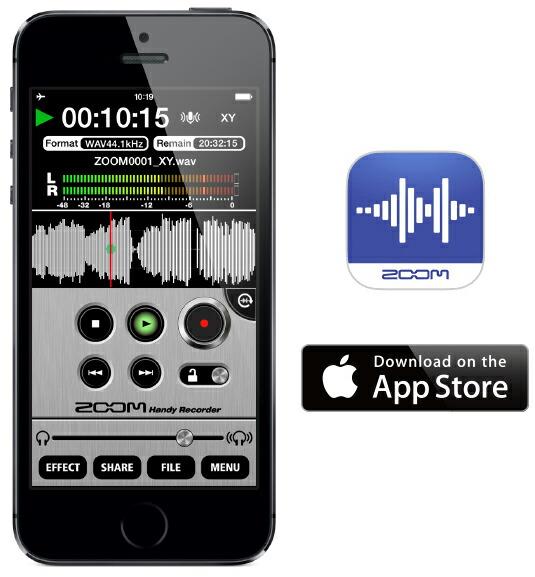 録音 iphone zoom