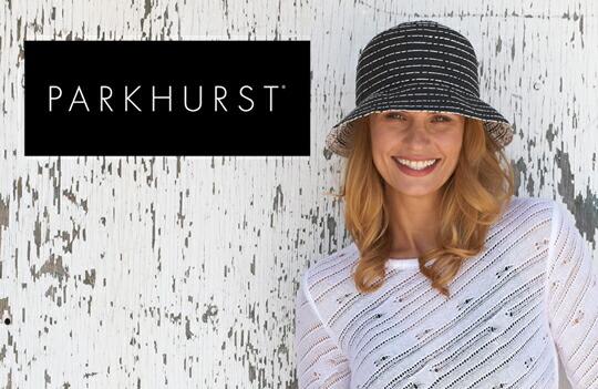 カナダ・パークハーストレディース帽子PARKHURST