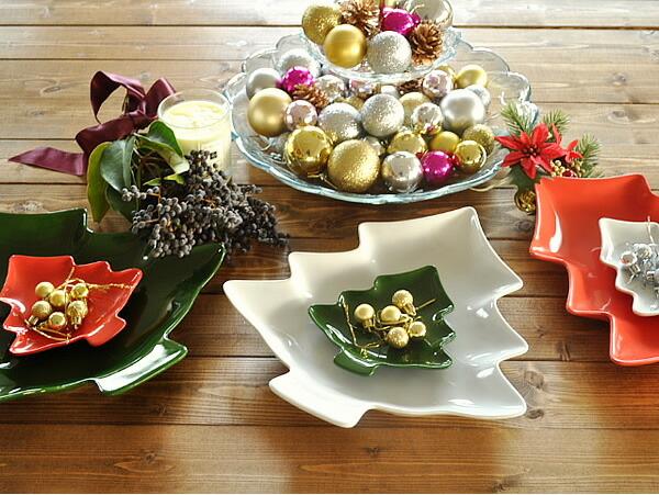 クリスマスのごちそうが映えるテーブルコーディネートでおすすめの食器は?